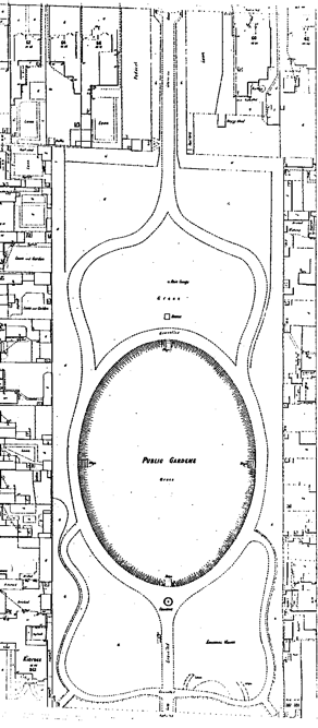 MMBW Plan of Victoria Gardens c. 1900 Source: Prahran City Council Archives